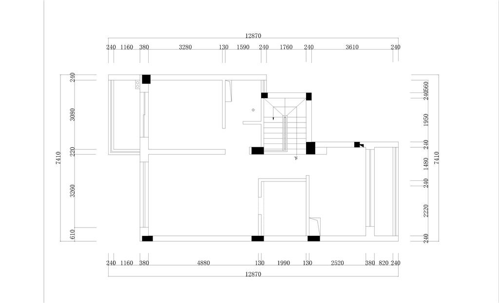 溪涧堂现代简约风格220㎡效果图装修设计理念