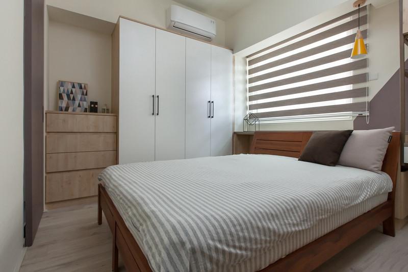 老房子改造装修案例-卧室