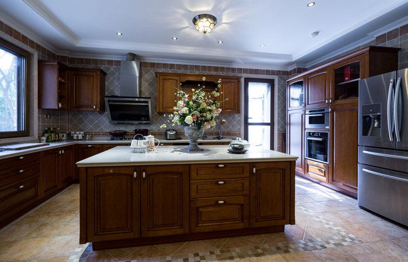 欧式古典厨房效果图