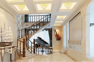 复式楼室内楼梯装修要怎么设计?