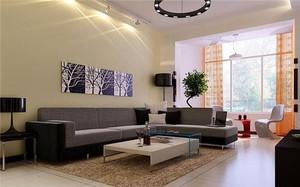 客厅墙漆适合的颜色和注意事项