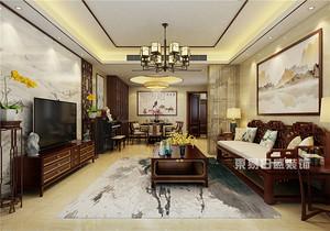 6款中式客厅装修效果图,,简洁典雅,总有一款让你心动!