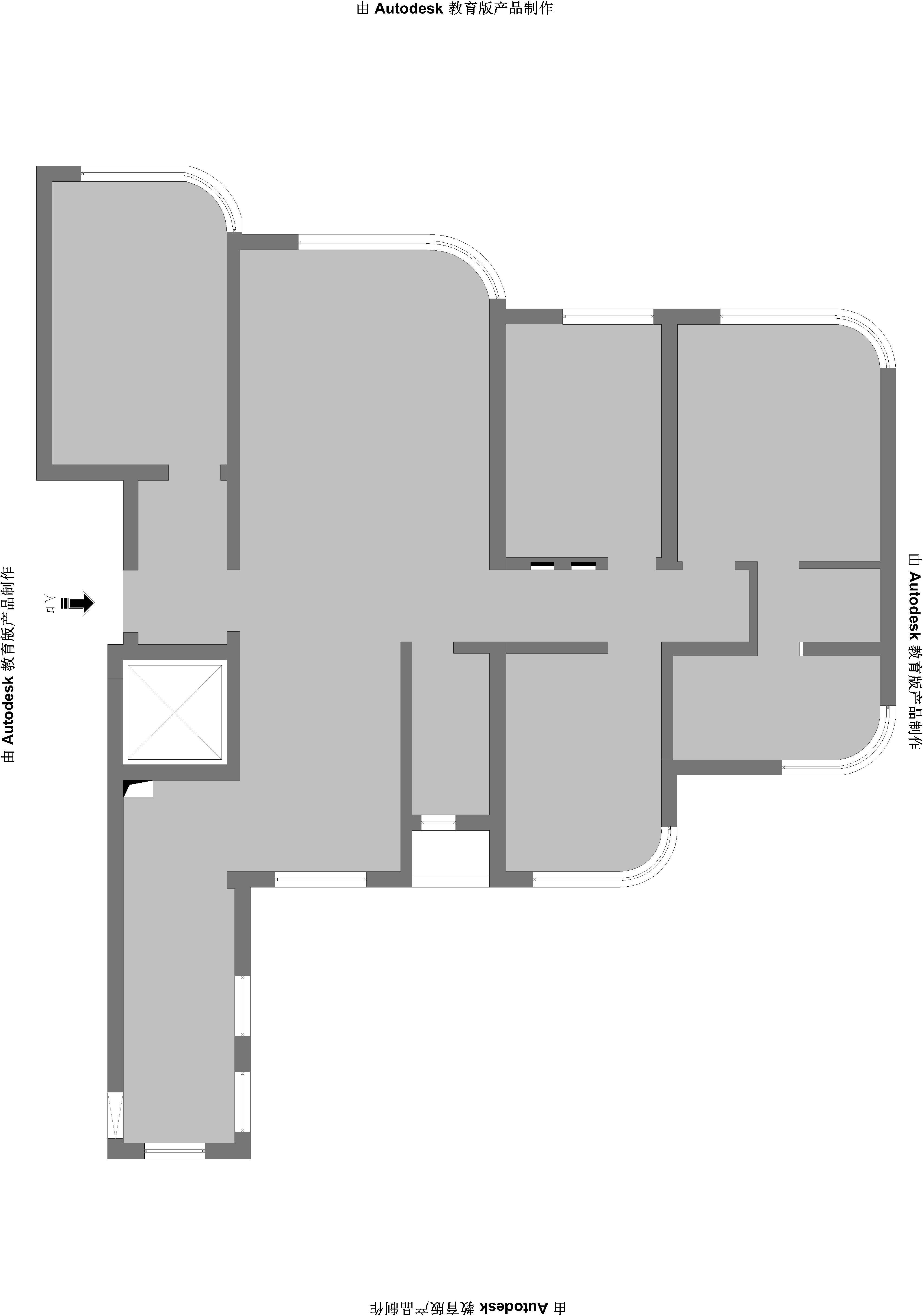 明秀庄园法式装修效果图-256平装修设计理念