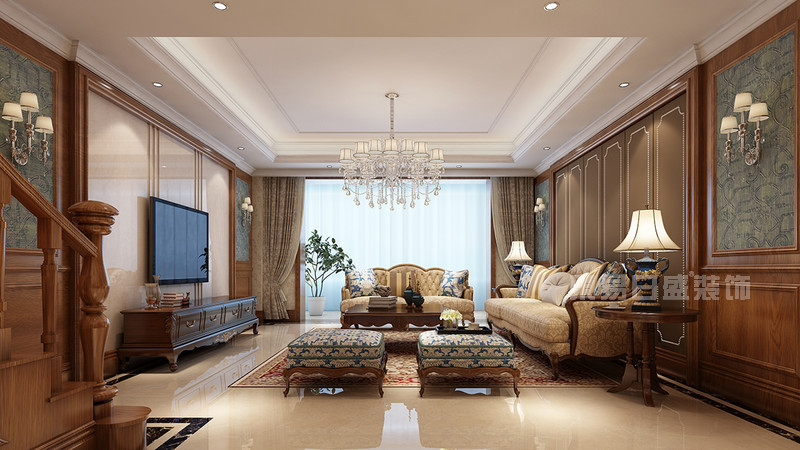 欧风格客厅装修效果图赏析