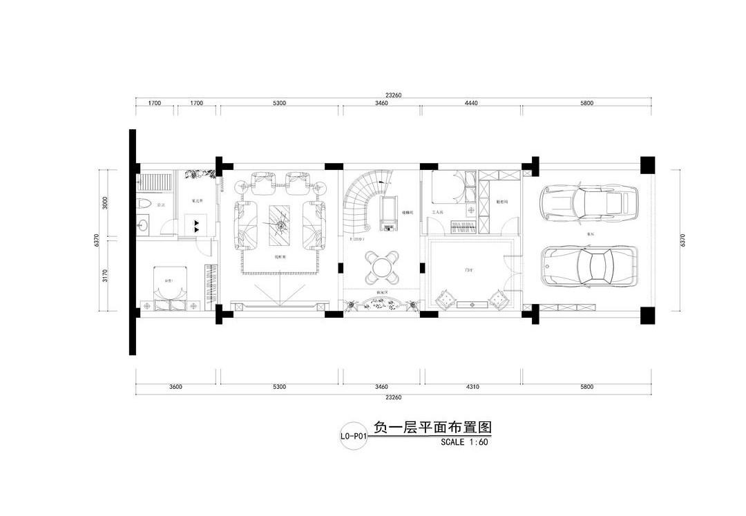 御景水岸-600平米别墅装修-新古典风格设计案例装修设计理念