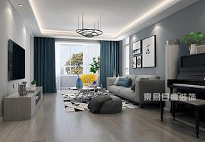 上海客厅装修设计地面材料用地板好还是地砖好?