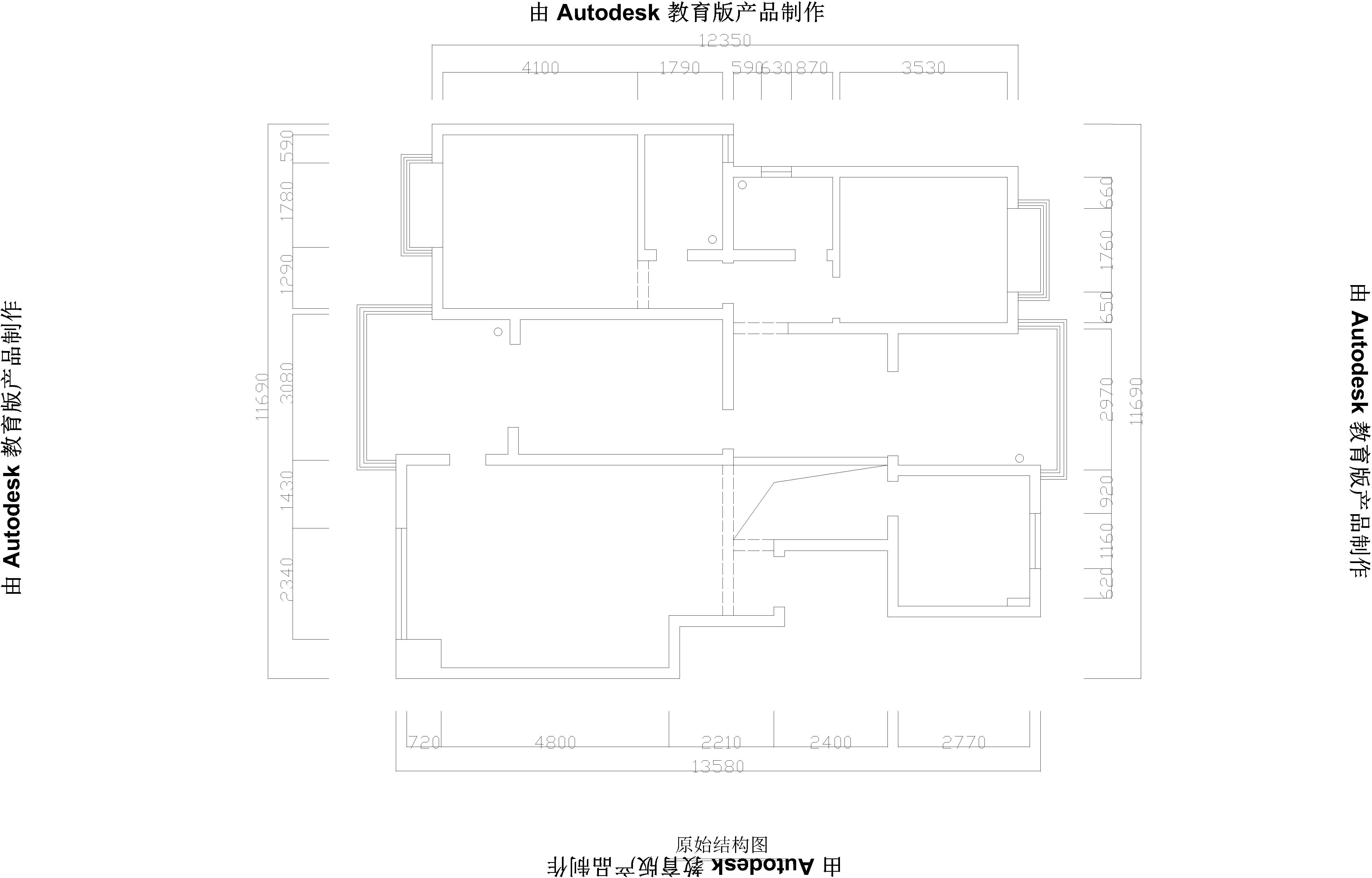 城上城B9-260平米户型装修方案-欧式跃层装饰设计装修设计理念