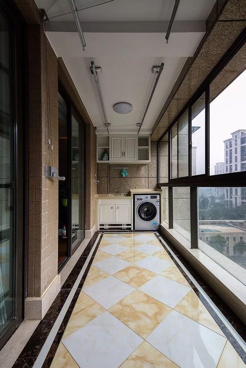 阳台地砖贴图,阳台地面这样铺太美了-深圳整装装饰公司
