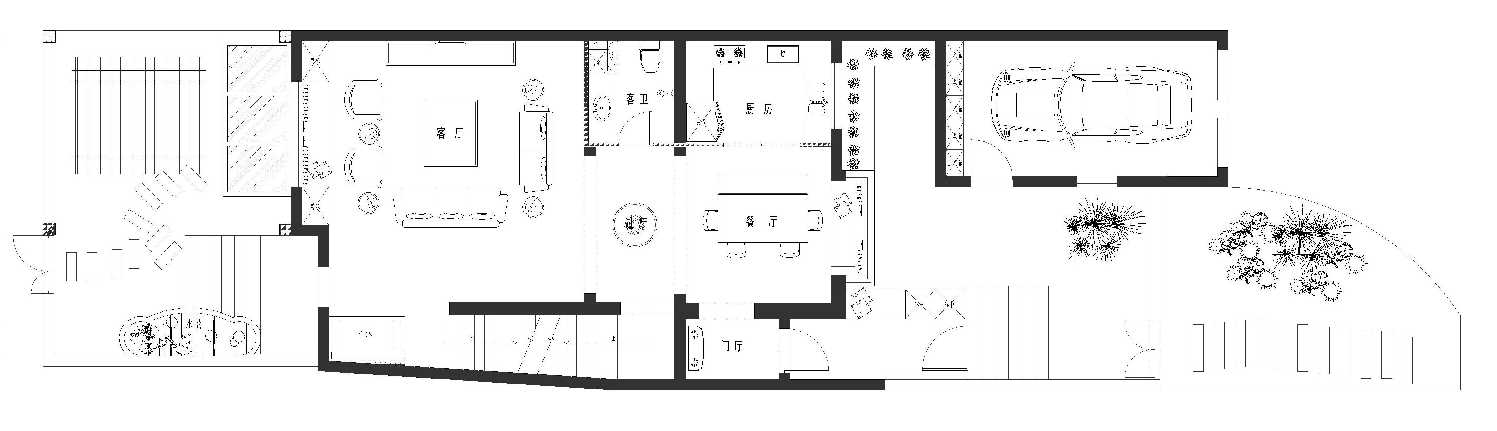 东方太阳城 现代风格 360㎡装修设计理念