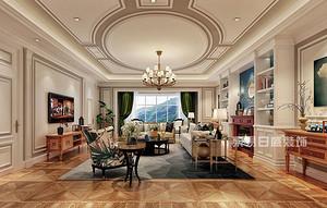 160平米美式乡村风格装修 最高雅古典的静心居所