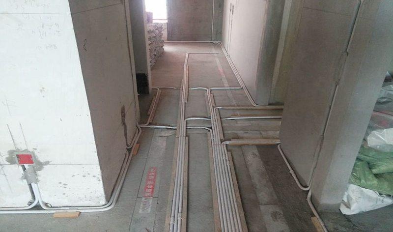 4,检测电路,对水路进行试压. 新房装修水电改造的细节