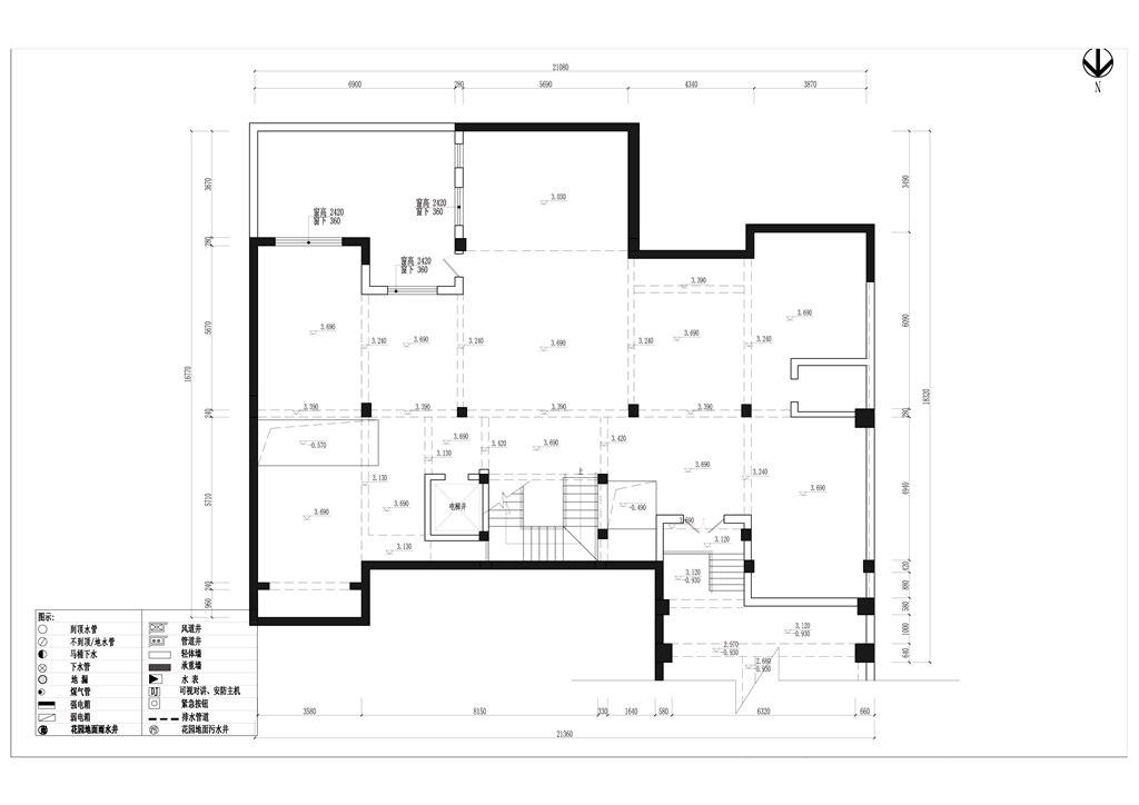 海珀晶华500平米新古典别墅装修效果图装修设计理念