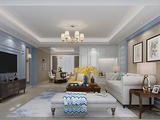 香山美墅果岭-东易日盛高端大宅设计-176平米装饰方案