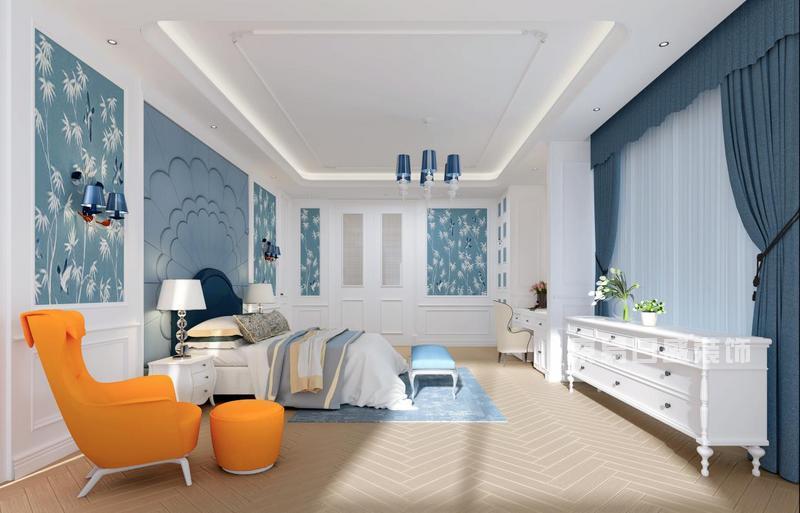 新世界名镌简欧风格卧室