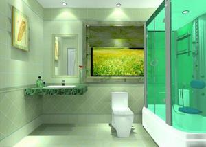 卫生间装修设计四个精心改造上厕所也神清气爽