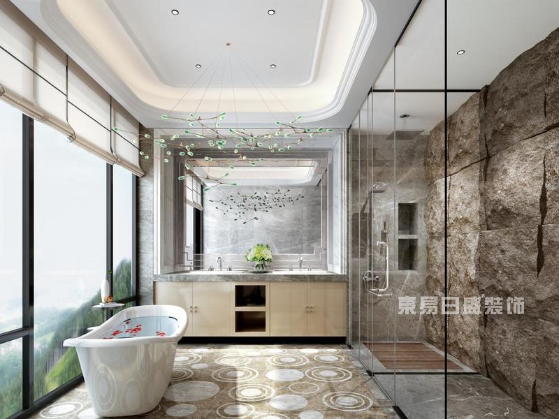 简欧风格浴室