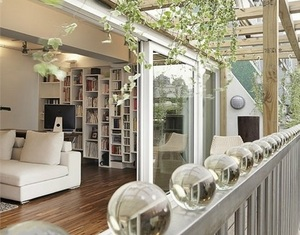 阳台装修设计效果图,享受下午时光