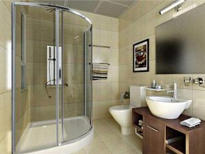 了解淋浴间合理尺寸设计专属的淋浴间