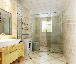 为家做牺牲的小卫生间怎么装修?