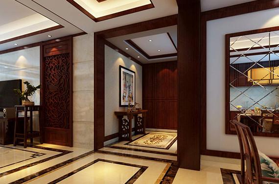 重庆新房装修,玄关装修设计,重庆东易日盛