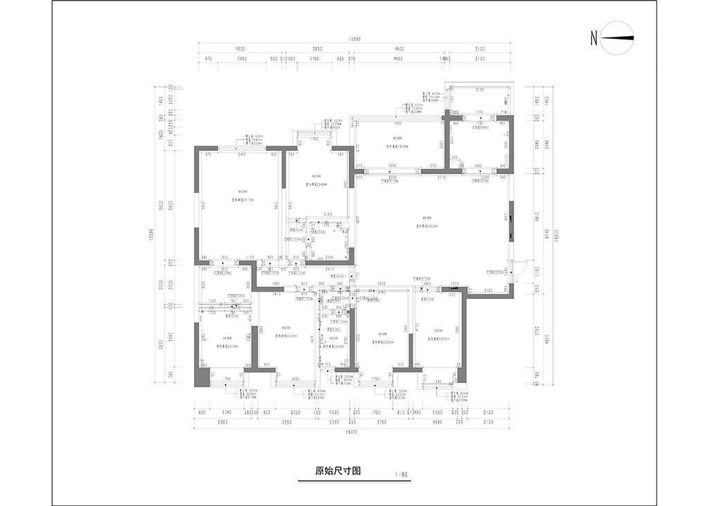 天鹅堡 新中式装修效果图 平层 230平米装修设计理念