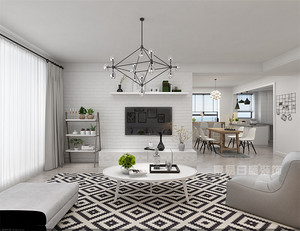 学会134平米房子简约装修技巧,给新房增添简约美