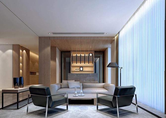 现代简约,现代简约别墅装修风格,重庆东易日盛