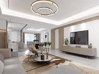 香山美墅果岭-东易日盛豪宅装饰-177平米户型设计方案