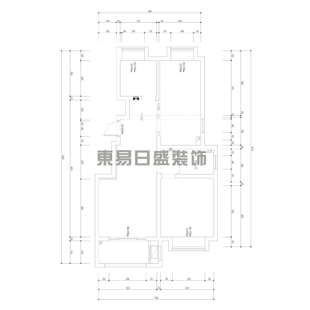 阿卡迪亚 美式风格 89平米装修设计理念