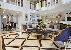新古典客厅装修多少钱,东易日盛贵吗