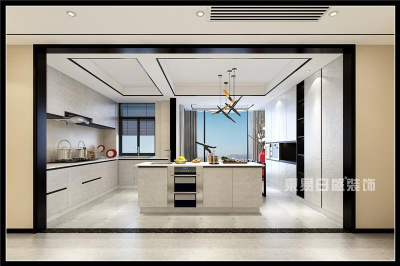 厨房装修这几点不容忽视,东易日盛厨房装修效果图