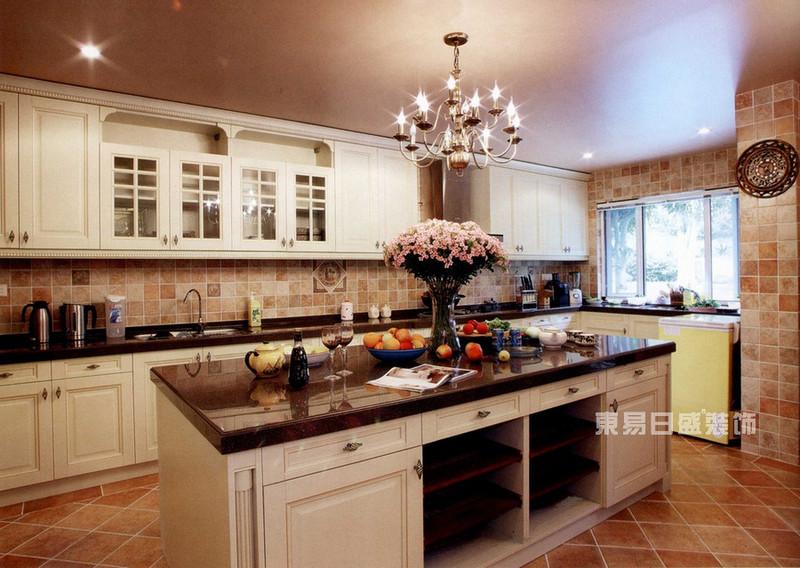 这些经典华丽的欧式厨房装修效果图带你领略异域风情