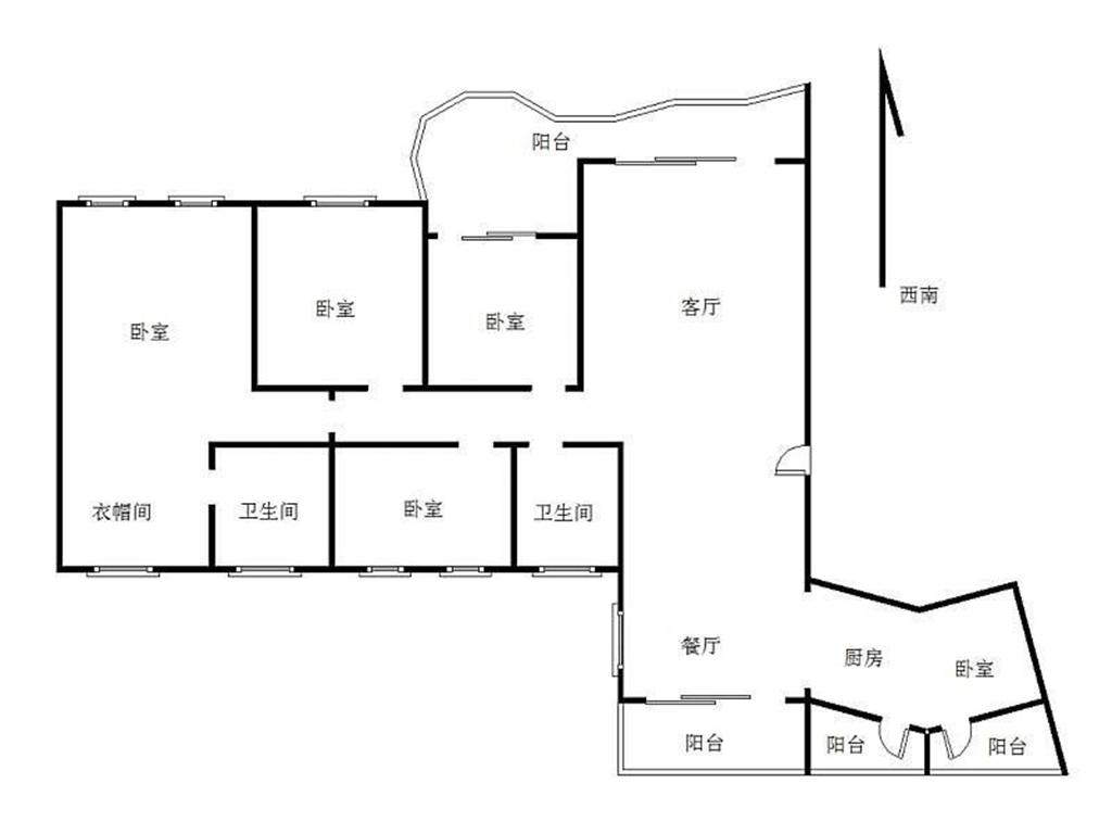 曦湾天馥  简欧风格装修效果图 146平米 四房两厅户型设计装修设计理念