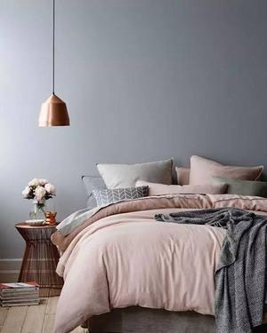 10图宁静优雅卧室 宅生活也有格调