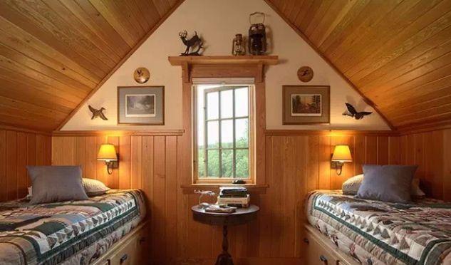 带阁楼的房子装修,复式阁楼装修,带阁楼的房子装修效果图