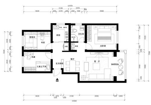 小薄荷新村-中式-180平米装修设计理念