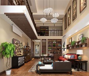 佛山东易日盛新中式装修示例:糅合东南亚风情的新中式,你喜欢吗?