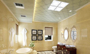 卫生间吊顶用什么材料好?就用这些美的不得了