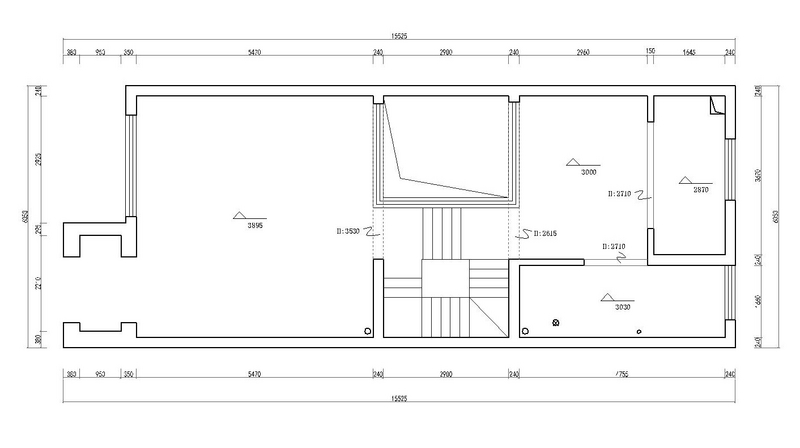 嶺湖墅-280平米-歐式古典風格-別墅裝修案例效果圖