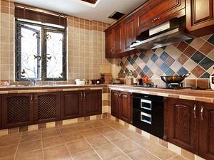 让人眼前一亮的美式厨房 给厨房来点新FEEL