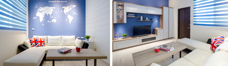 现代风格装修案例-客厅