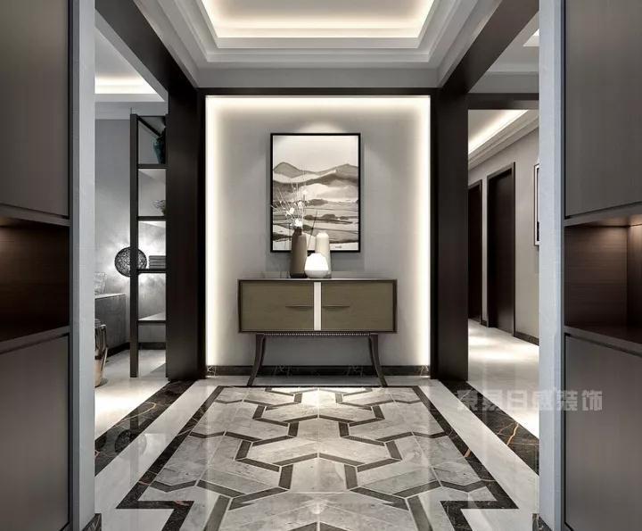 沈阳装修公司分享4款客厅玄关的装修效果图