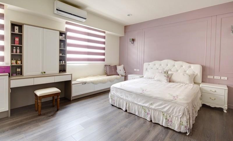 现代风格装修案例-卧室