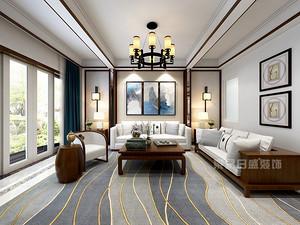 200平新中式别墅装修效果图,用中式文化造就幸福家