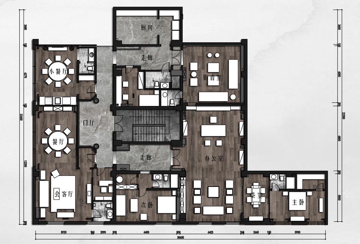 弘善家园 中式 359平米装修设计理念