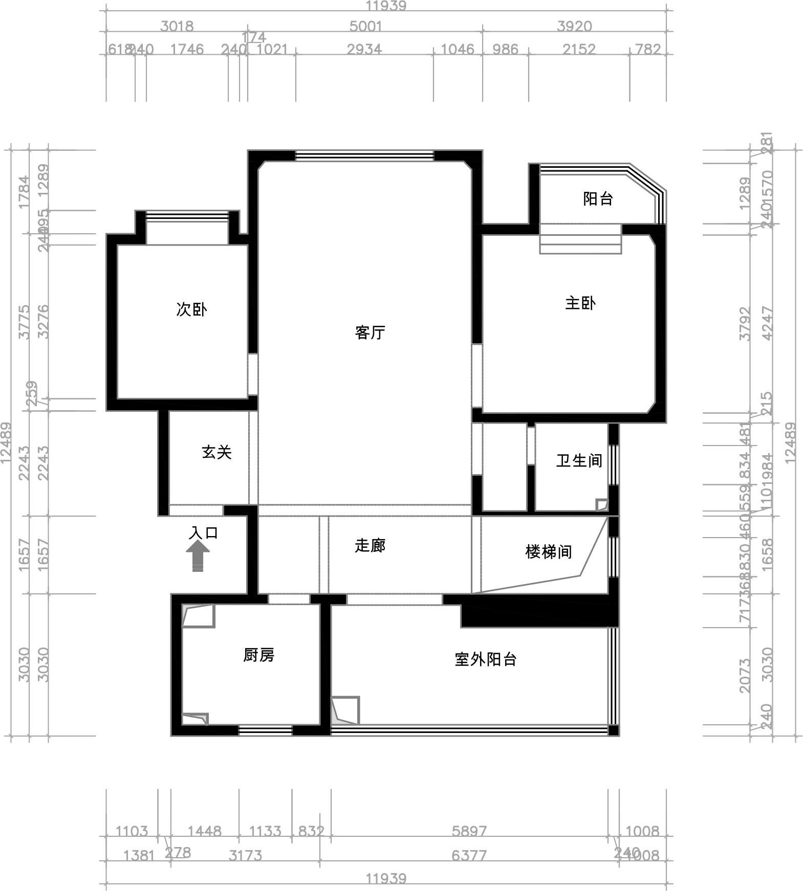 朝阳首府163平三室二厅新中式风格装修效果图装修设计理念