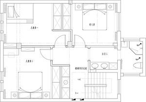 世茂龙湾-简美风格-260平米-别墅装修样板间