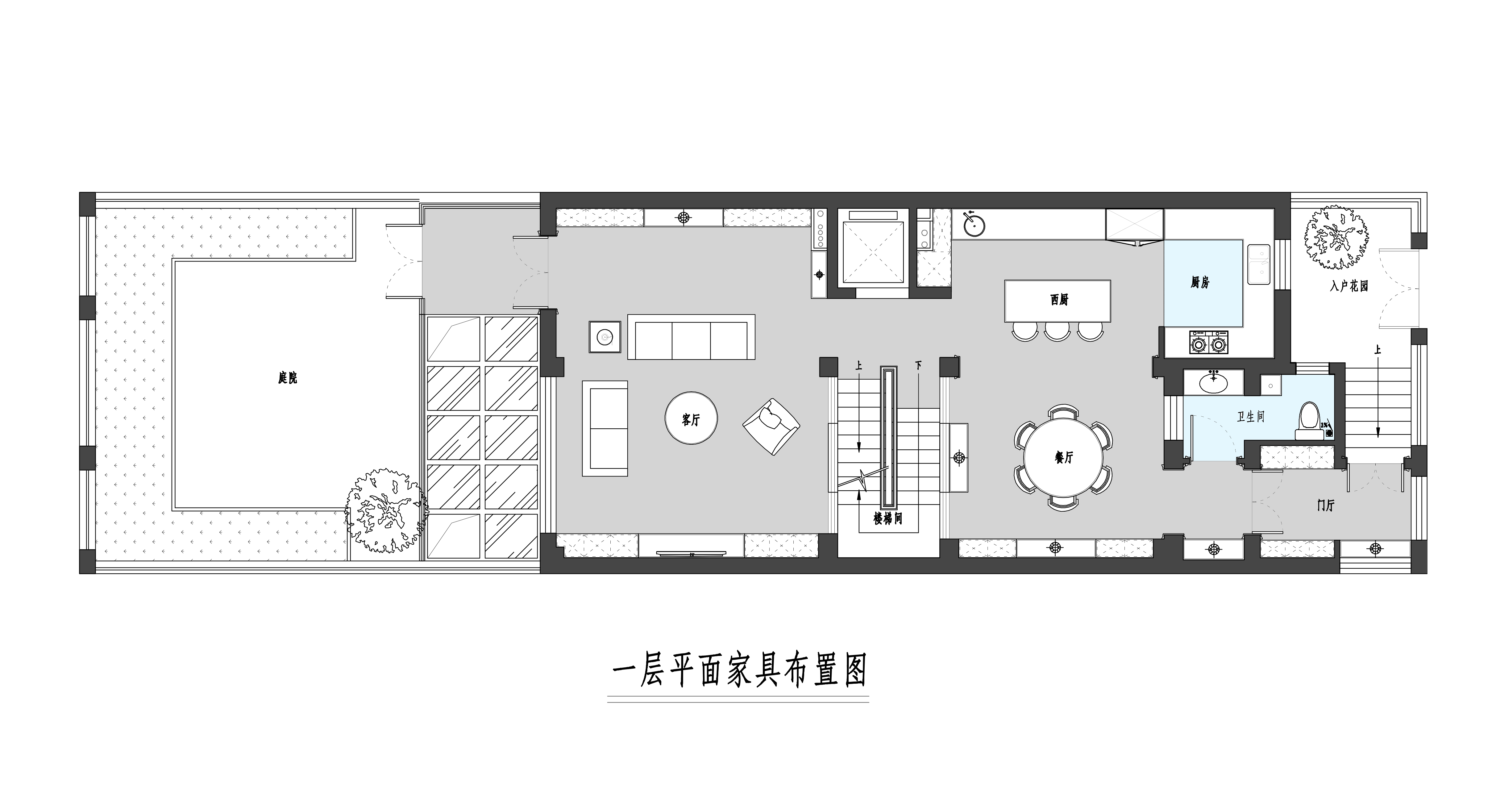 亚运新新家园-348平米-简约美式装修设计理念
