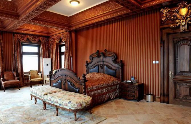 文成城堡卧室装修
