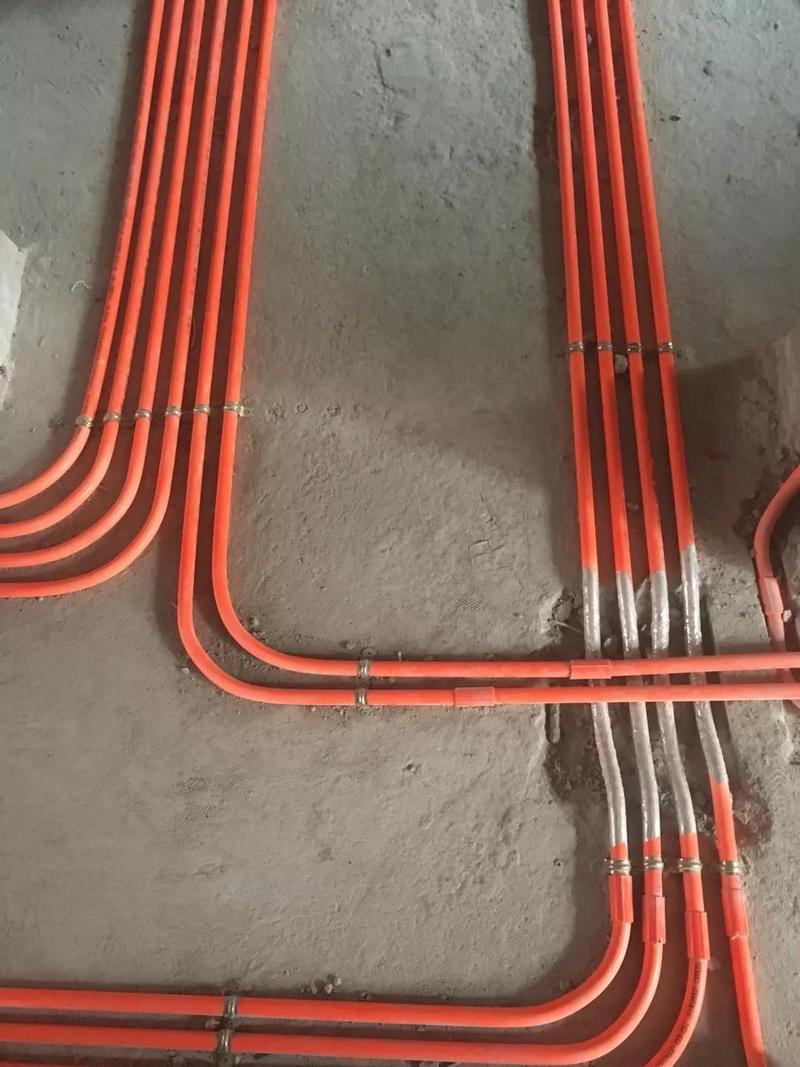 东易日盛装修工地-电路施工
